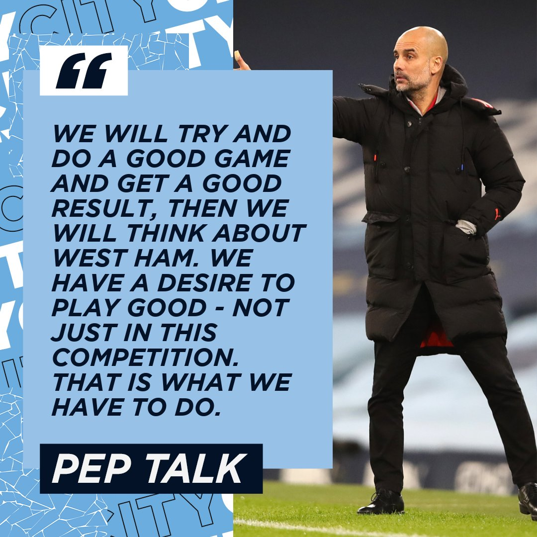 🗣 𝙿𝙴𝙿 𝚃𝙰𝙻𝙺 🗣 A few words from the boss ahead of our upcoming #UCL clash... 🔷 #ManCity   mancity.com