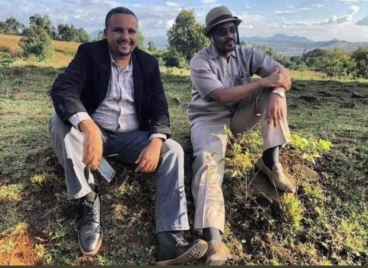 Every time I look at this picture I became sad knowing that Jawar & Bekele will never be this healthy or happy again.   Currently on their 27th day of the hunger strike and I can't stop thinking about the permanent damage their bodies will go through. #StarvingForJustice