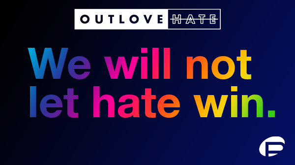 Help us OUTLOVE HATE and ensure Pulse's legacy of love and acceptance lives for generations to come. Visit  to join the movement. Every donor will be a part of a permanent mosaic at the Pulse Museum when it opens. #outlovehate #WeWillNotLetHateWin
