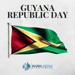 Image for the Tweet beginning: #Guyana's Republic Day, also known