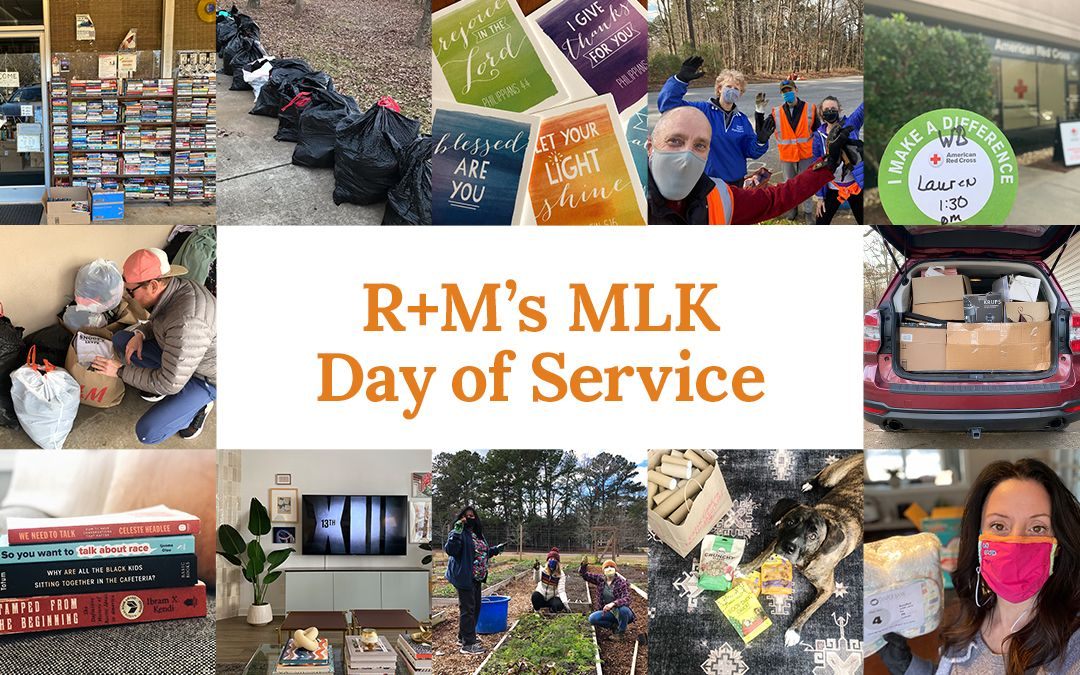 "We've missed our community (& posting)! As we continue to honor & celebrate Black History Month, we're sharing some of the organizations we supported on our ""day of service"" during #MLKDay last month 💛  For more, visit:"