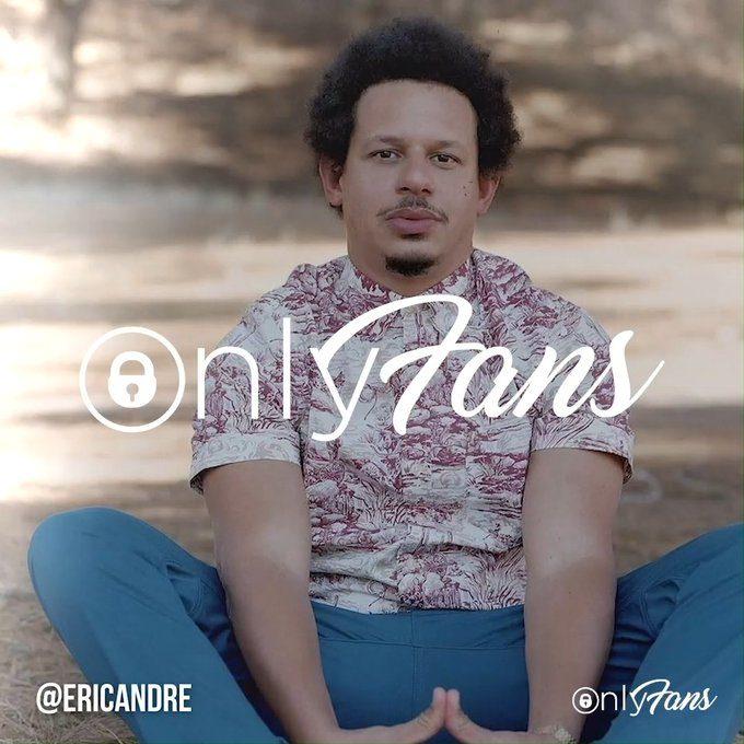 Expect the unexpected from comedian and actor @EricAndre! He's just joined OnlyFans and is sharing some