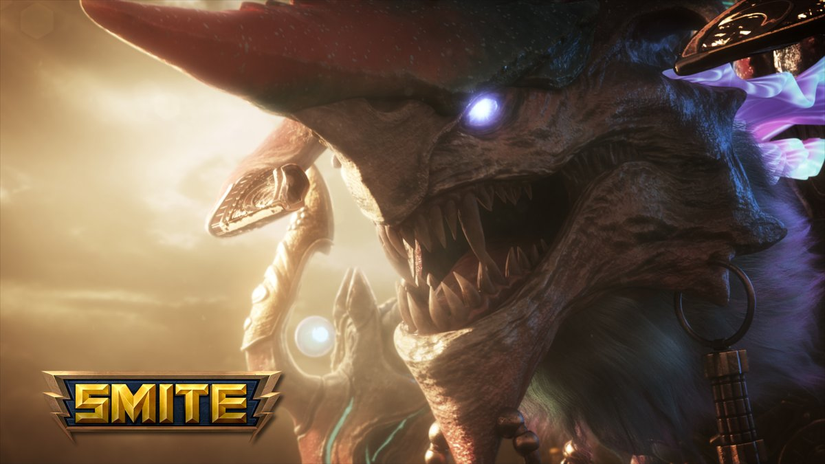 Elegance meets chaos.  Play as Tiamat in @SMITEGame: