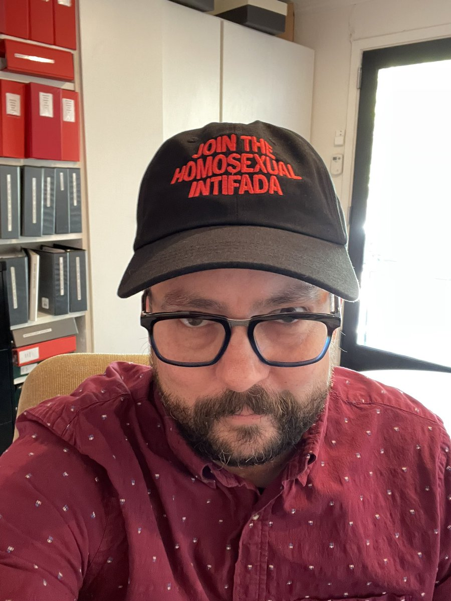 I know I'm late to the post a picture of you in a hat party but I just got a new hat in the mail and had to show off.  Thanks @BruceLaBruce!