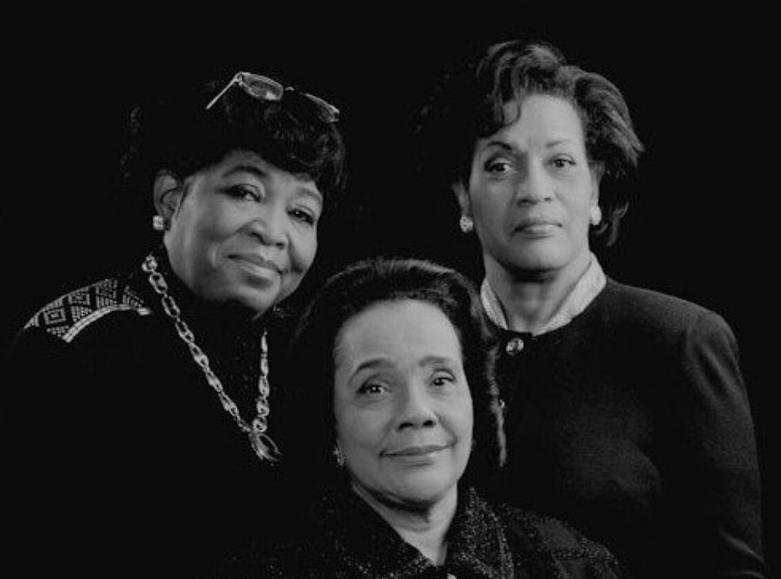 """Leading ladies of the Civil Rights Movement:  Dr. #BettyShabazz (1934-1997); #CorettaScottKing (1927-2006); & #MyrlieEvers (1933- )  """"They faced tragedy, but they refused to let tragedy defeat them."""" -Ruby Dee  #BlackHistoryMonth #BlackExcellence #Legacy   #BlackHistory"""
