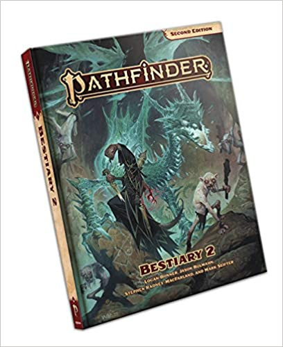 Pathfinder Bestiary 2 (P2) Hardcover for Pathfinder Second Edition  25% off   4 TGDrepost