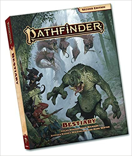 Pathfinder Bestiary Pocket Edition (P2) for Pathfinder Second Edition   4 TGDrepost
