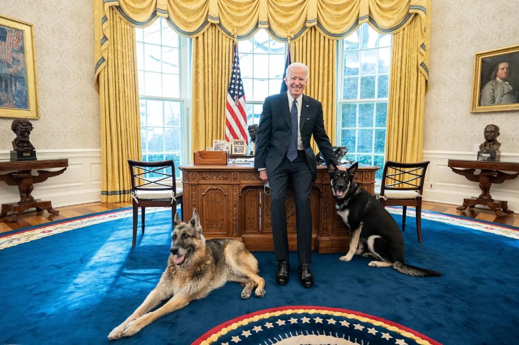 Replying to @POTUS: Not many people have Oval Office walk-in privileges. Happy to report that these two are on the list.