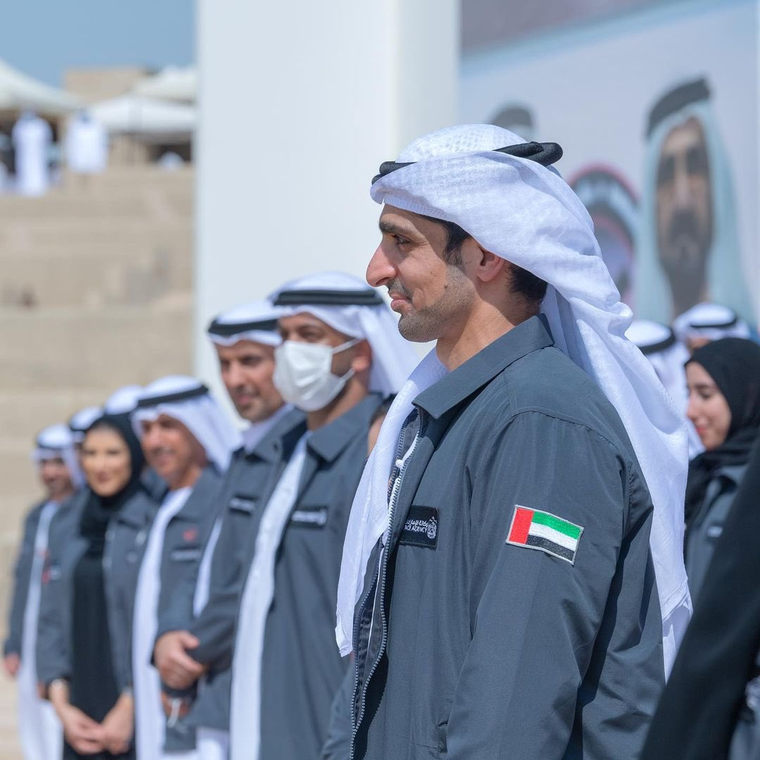 Honouring the Hope Probe team was part of a ministerial retreat to draft a comprehensive strategy for the next 50 years headed by @HHShkMohd and @MohamedBinZayed. We have a clear future aim to boost the UAE's global competitive and transformative edge across all sectors.