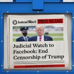 Image for the Tweet beginning: Judicial Watch announced it asked