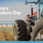 Image for the Tweet beginning: #CdnAgDay  What's Alberta's role in