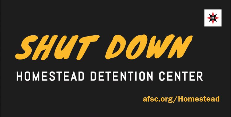 Under NO circumstances, NO CHILDREN, either accompanied or unaccompanied, are to be held in  detention. Rather, they are to be reunited with their families.   We condemn the reopening of Homestead Detention Center! We shut it down before and will do it again! #EndChildDetention
