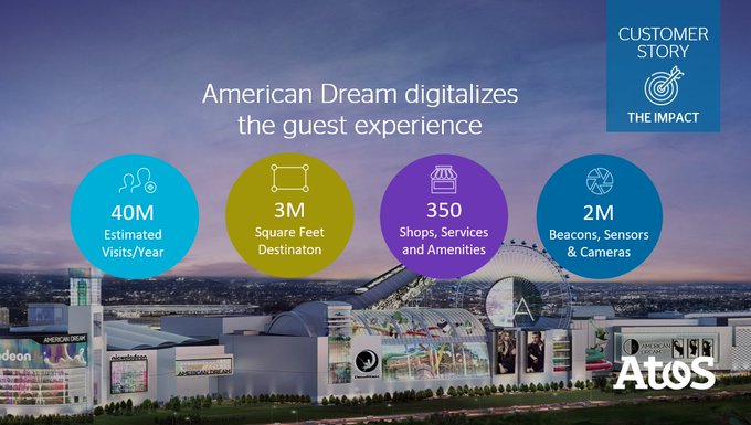 .@AmericanDream's digital technology creates a new level of engagement, not as a mall, but...