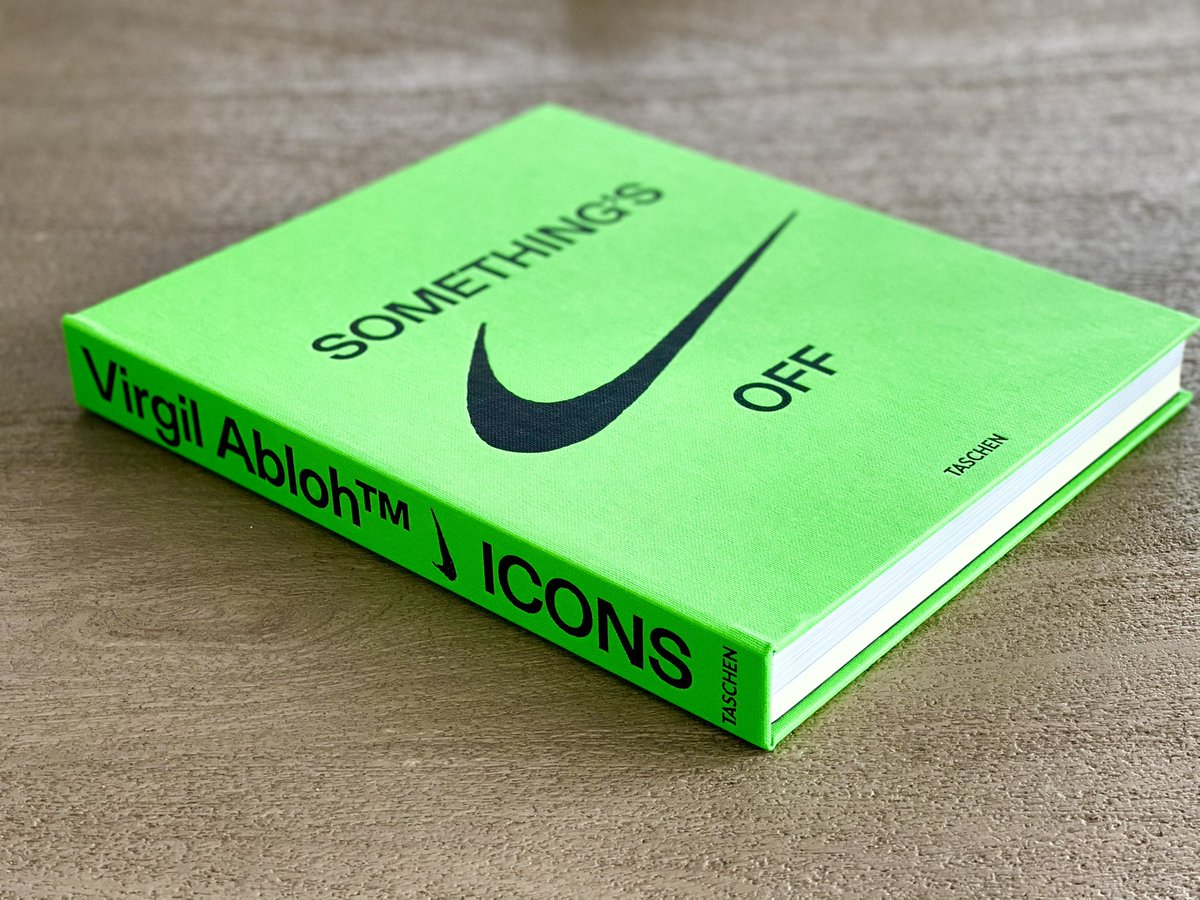 Virgil Abloh x Nike ICONS Book on sale for $49.71 shipped (retail $70)   Link =  3