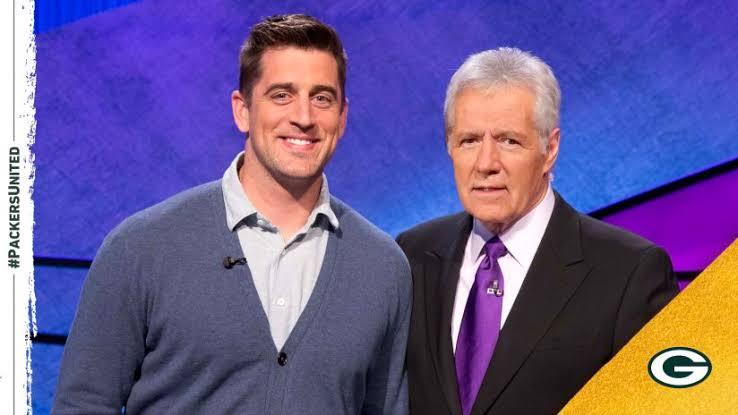 O quarterback Aaron Rodgers será apresentador de dez episódios do famoso game show americano Jeopardy! O início será no dia 5 de abril.  Créditos da imagem: Jeopardy Productions, Inc.  #Jeopardy #NFLBrasil #NFLnaESPN #GoPackGo