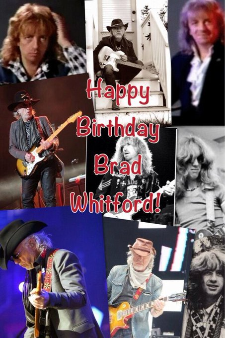 Reposting this collage I made in 2013 happy birthday Brad Whitford