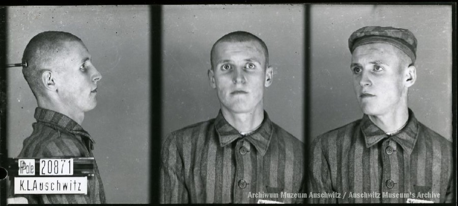 24 February 1921   100 years ago a Pole, Wacław Jąder, was born in Sadkowice. A worker.  In #Auschwitz from 14 September 1941. No. 20871 He perished in the camp on 17 November 1941.