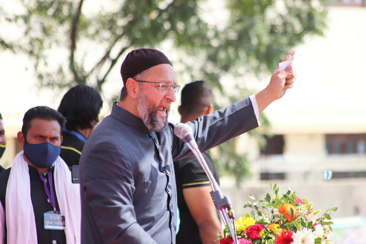 New entrant AIMIM wins 7 seats in two Muslim areas in AMC polls