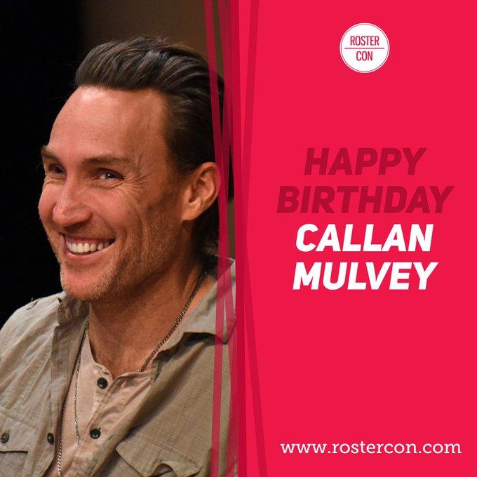 Happy Birthday Callan Mulvey ! Souvenirs / Throwback :