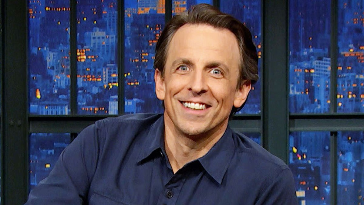 Replying to @LateNightSeth: .@SethMeyers' Cancun vacation with his buddy TC was cut short.