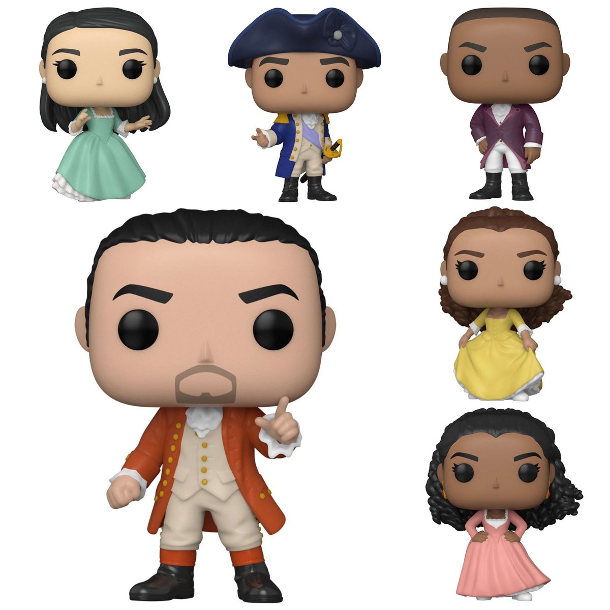 First look at at Hamilton Pops! Available for preorder! #Funko   .