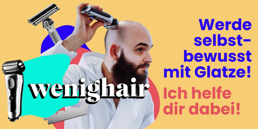 Wie oft rasieren glatze Glatze richtig