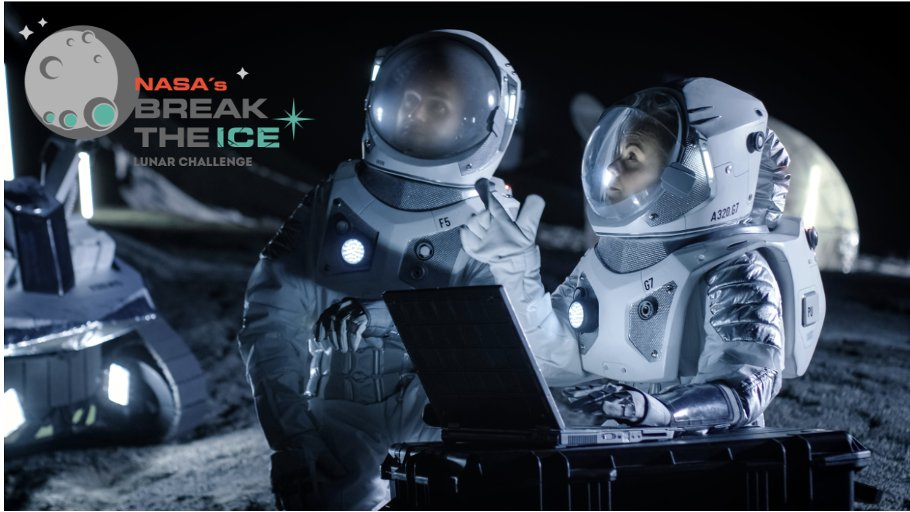 Learn more about our Break the Ice Lunar Challenge and engage with a panel of space exploration and robotics experts!   Click below to register for the webinar to be held on February 25th at 11 AM CST.