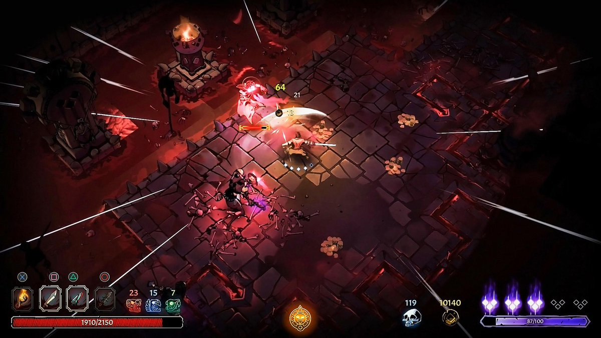Explorers! The Temple awaits…  Survive the Curse of the Dead Gods with tips from developer @PasstechGames:  Out on PS4 today