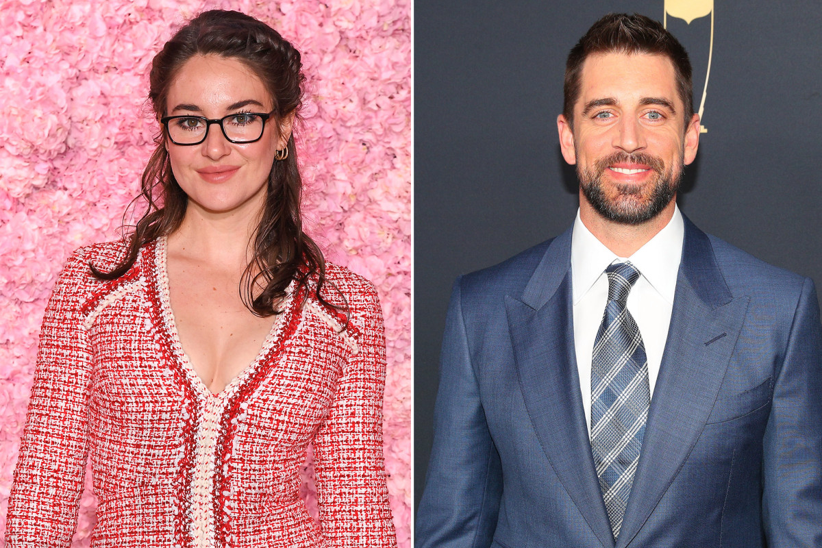 Shailene Woodley confirms she's engaged to Aaron Rodgers