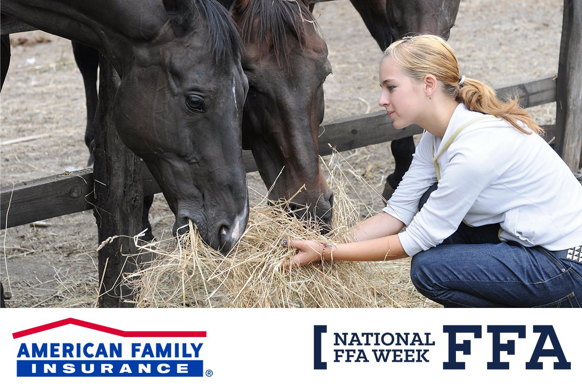 It's National #FFAWeek! @AmFam has been a proud sponsor of the National FFA Organization for 26 years. Farming is in our roots and we celebrate agriculture and future agricultural leaders.