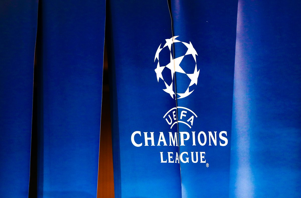 👀 Who would you expect to walk through this curtain?   #UCL https://t.co/ah1So6zRKh