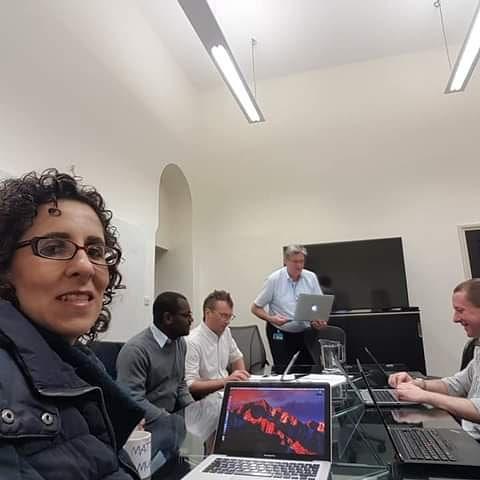 Nagios Quru seminar in Somerset House in London.