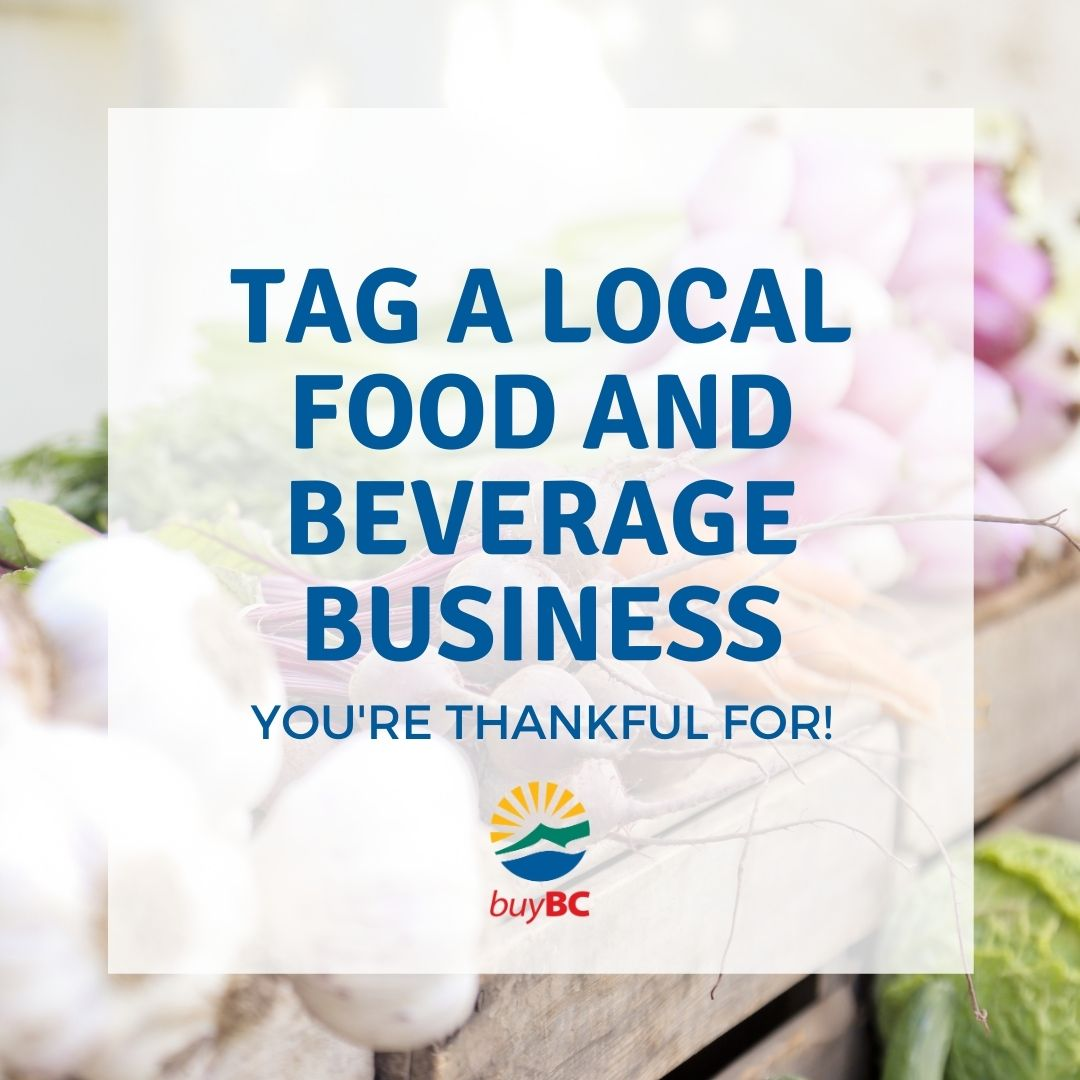 Let's raise a fork to the local #ComoxValley food we love and the people who produce it!