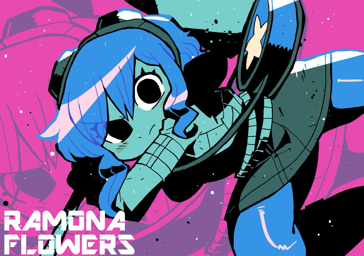 ラモーナ・フラワーズ / Ramona Flowers #ScottPilgrim