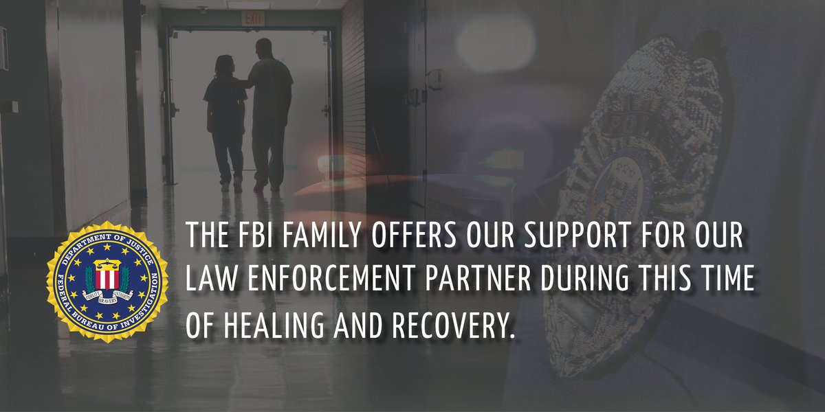 We are grateful to our partners in Arkansas who recovered a kidnapping victim from North Carolina. Lonoke Police Officer Cody Carpenter was shot in the process. @FBICharlotte sends our heartfelt wishes for a full recovery to this brave officer.