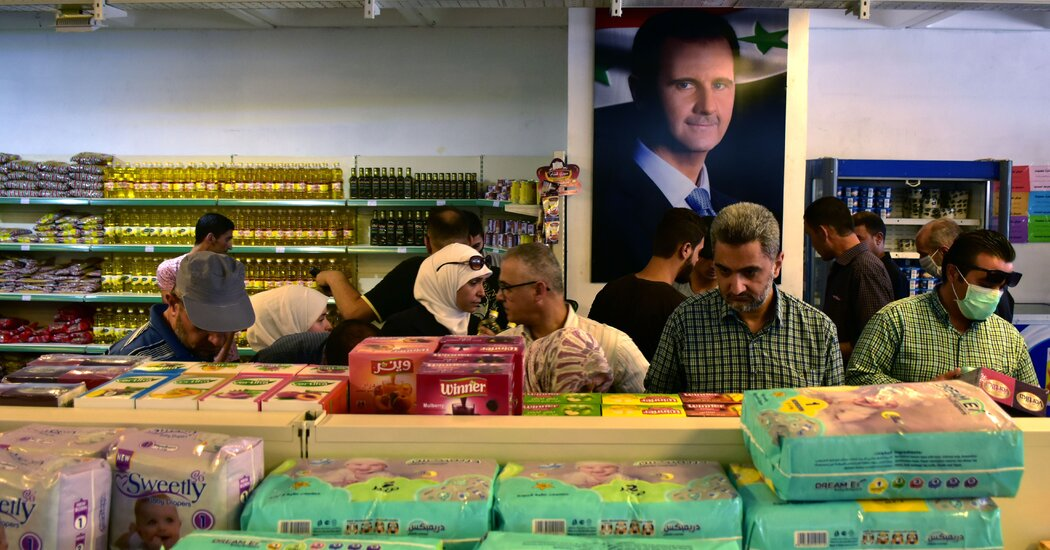 Having Won Syria's War, al-Assad Is Mired in Economic Woes Photo