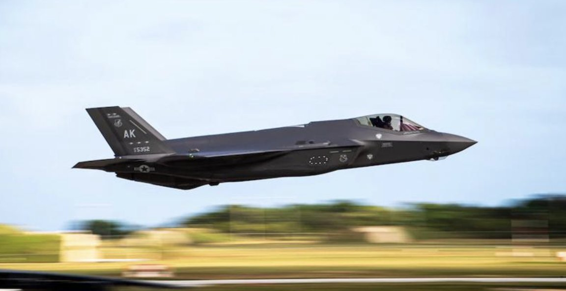 The U.S. Air Force admitted that the F-35 stealth fighter has failed