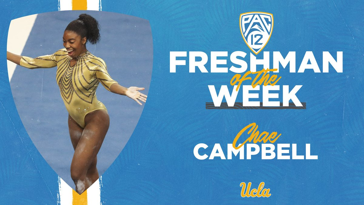For the second time this season, @chae_2001 has been named the @pac12 Freshman of the Week!  ℹ️