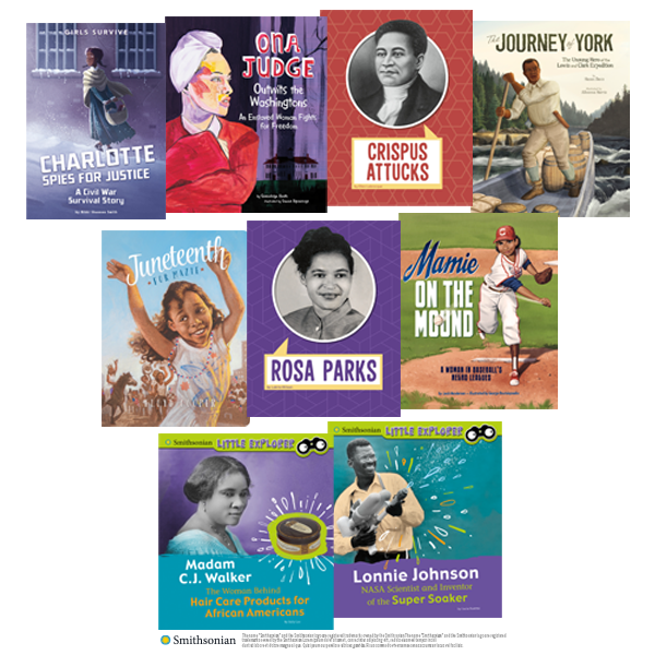 It's #BlackHistoryMonth! From a pioneering aviator to brilliant inventors and trailblazing athletes, celebrate the incredible achievements and share the untold stories of Black Americans throughout this month & beyond with our curated reading list  #kidlit
