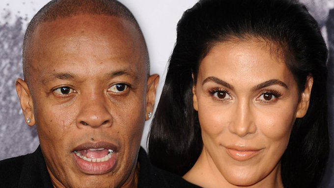 Dr Dre Trashes Estranged Wife Nicole in Preview of New Song Photo
