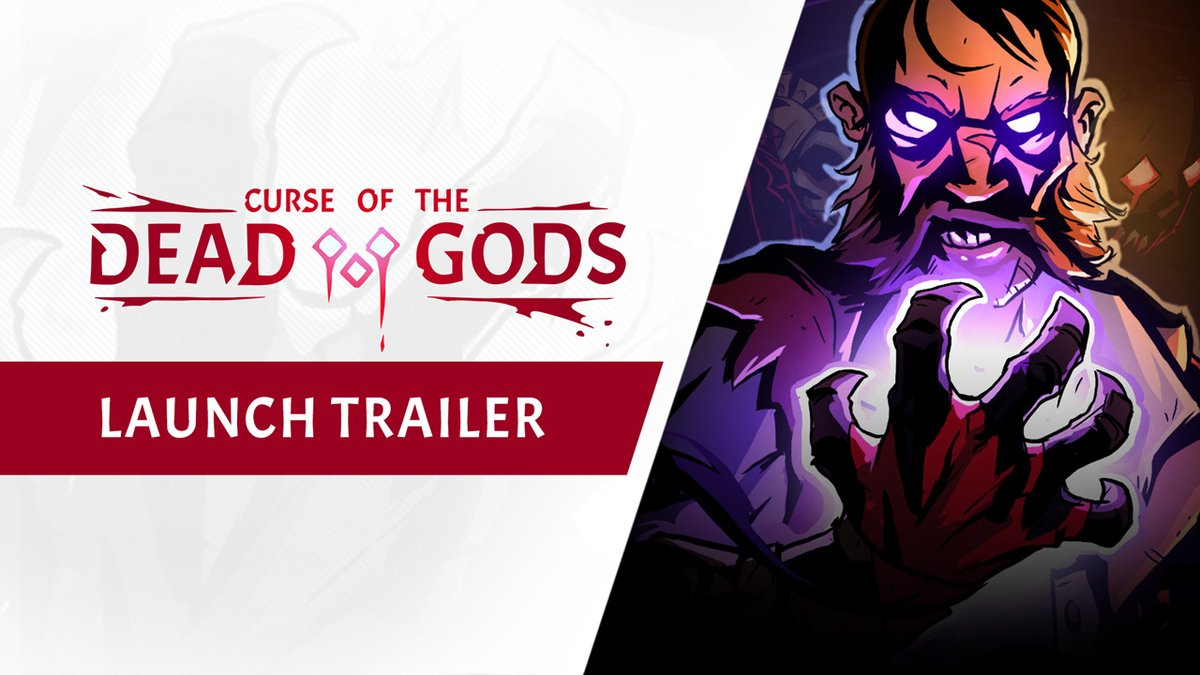 It feels weird to say we're looking forward to a curse, but we're looking forward to a curse.  Curse of the Dead Gods is coming Feb 23: