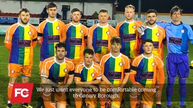 """""""Every person needs to walk through your gates and feel like they can be themselves and that they are included.""""🙌  🏴🏳️⚧️🏳️🌈During #FvH2021 month of action the FAW are launching an LGBTQ+ network for clubs in Wales.   Hear more from @DragonessesFC, @ConwyBoroughFC & @WSTtweets 👇"""
