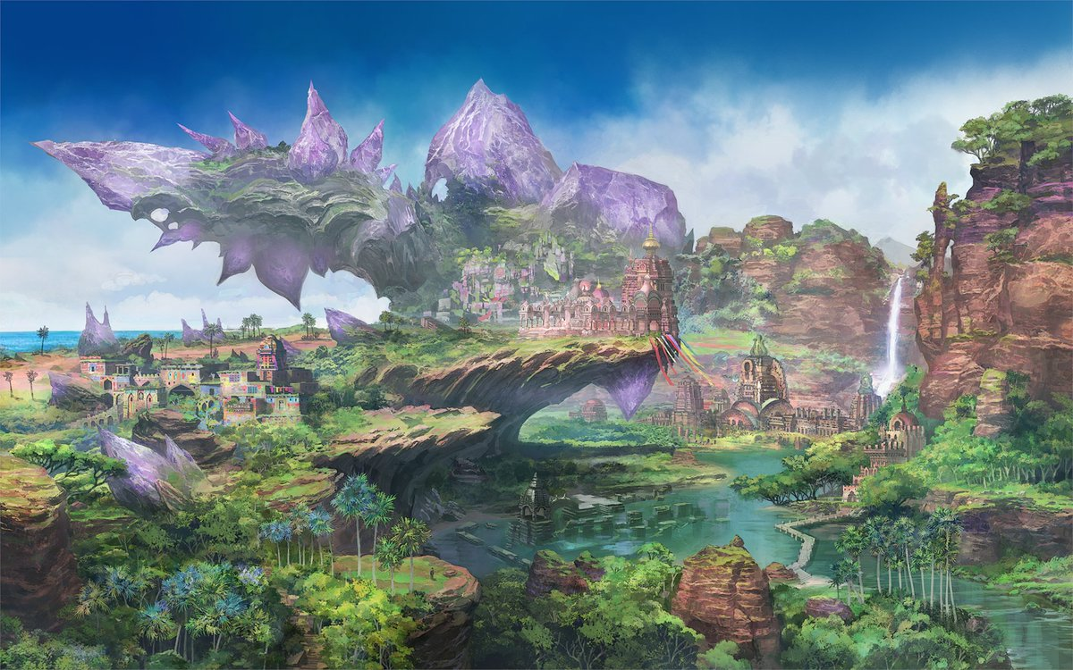 What new adventures await on the island of Thavnair? ⛰️✨