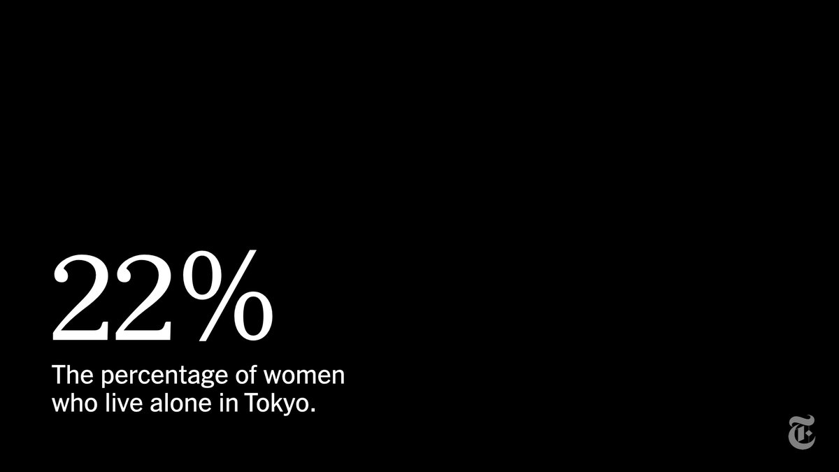 In Tokyo, about 22% of women live alone; working mothers have struggled with deep disparities in housework in the work-from-home era; and some women have experienced a rise in domestic violence and sexual assault. https://t.co/DesQKBVoz1 https://t.co/UcMwoQcsIn