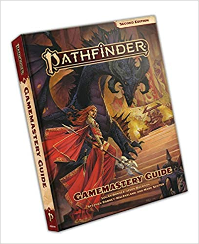 Pathfinder Gamemastery Guide  Hardcover   Second Edition  40% off   16 TGDrepost