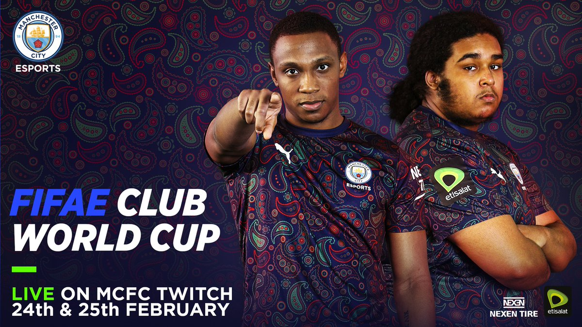 The lads are ready to go for the #FIFAeClubWorldCup 🔥🔥 Let's get it @ryanpessoa_ @Shellzz 💪💪