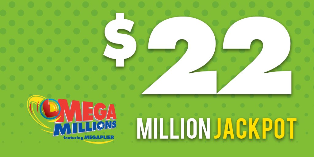 Hey #WINsconsin... Mega Millions Jackpot is $22 Million and climbing!  Mega-sized jackpot. Maximum excitement! Next drawing is tonight, 02/23!  Learn more about this lotto game at https://t.co/uINrgAfg71 https://t.co/f2drR3CVEM