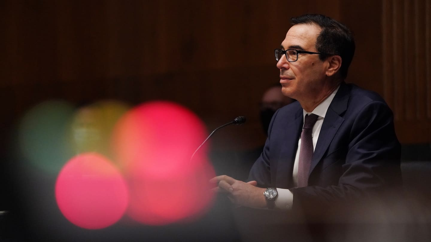 Trump's former treasury secretary expected to launch investment fund, seeking backing of Persian Gulf state funds Photo