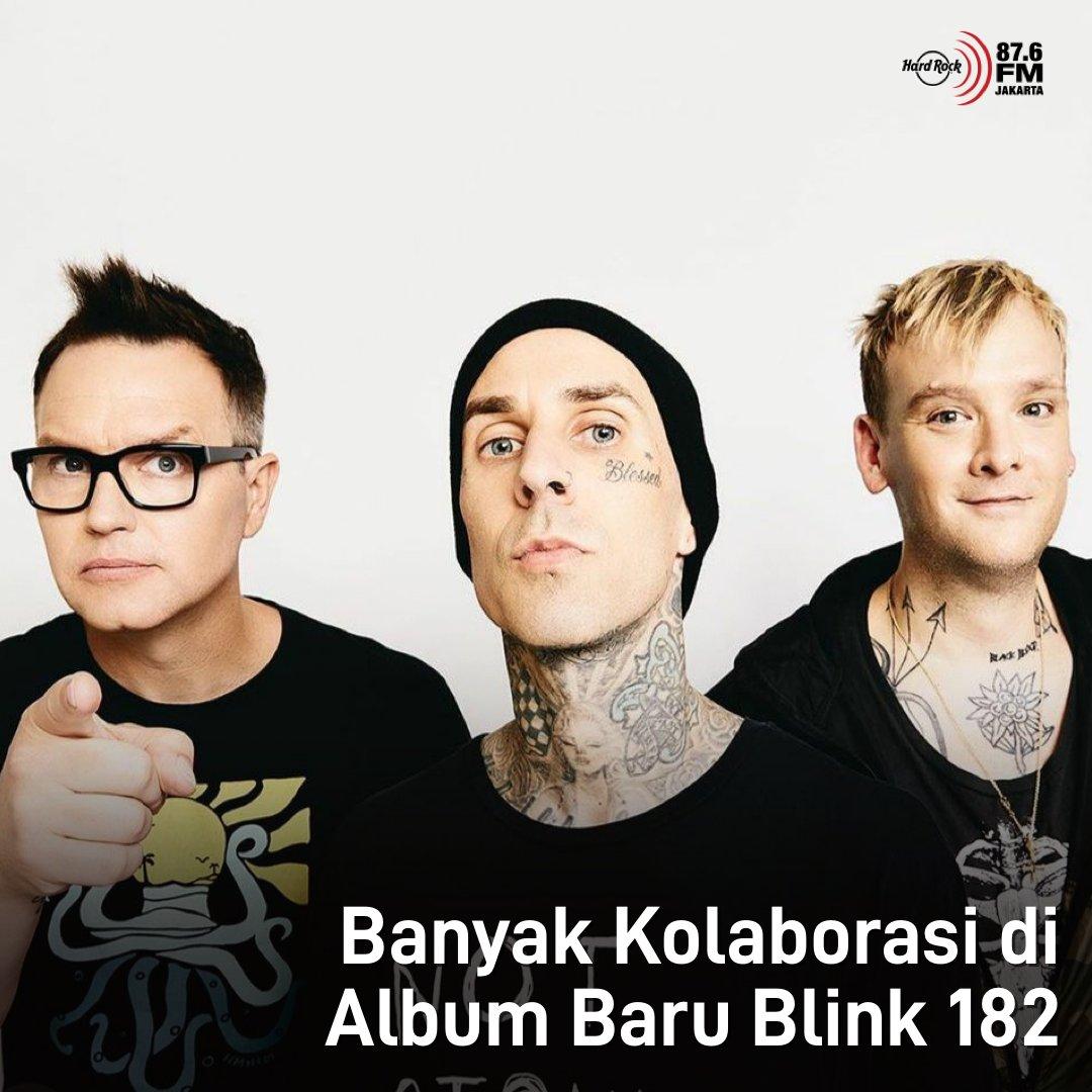 #HRFMNews Wow! Di album terbaru Blink-182, mereka mencoba berkolaborasi dengan beberapa musisi lain seperti Grimes, Uzi dan Pharrell.  Tapi tenang, hal tersebut tidak akan mengubah status mereka sebagai band punk-rock kok.