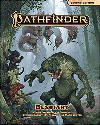 Pathfinder Bestiary (P2) Hardcover for Pathfinder Second Edition  35% off   16 TGDrepost